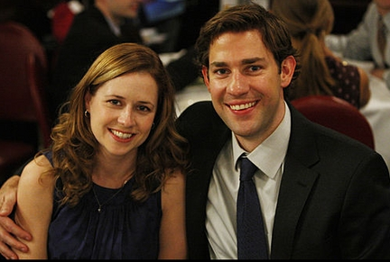 What car does Pam and Jim drive as a married couple?
