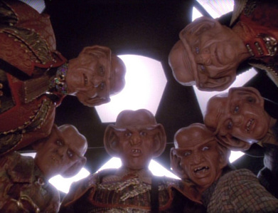 "T/F: ""The Magnificent Ferengi"" is a homage to ""The Magnificent Seven""?"