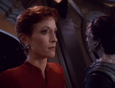Kira was a last-minute addition to the cast. Which TNG character was originally going to be brought over?