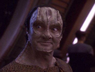The character Elim Garak is a former spy who works as a tailor on the station. This parrallels many spy novels written by ______?