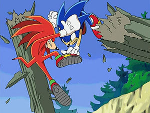 Who's Knuckles' arch enemy?