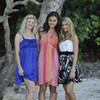 Rikki, Cleo & Bella with their beautiful dresses CleoSoShy photo