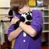 Whos cuter Justin or the panda??? Lovebugz photo