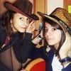 me &+ jelena <33 u can use it.  rainbowinthesky photo