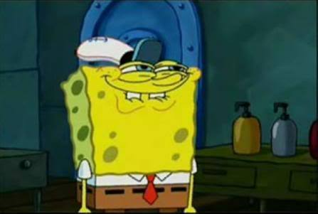 Spongebob's Face When he