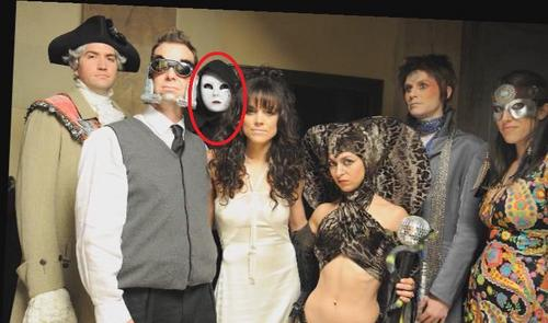 Who is this mystery villain in the group photo of the Evil League of Evil?