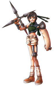 What do I need to do in order to get Yuffie in my party once I have defeated her?