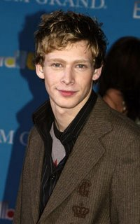 Johnny Lewis for the win! he's tall lanky, and picturing dark circles under his red eyes gets me so excited. :)