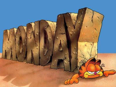 I love Garfield the most.