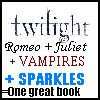 Vampire because it would be cool to sparkle,be powerful,and to be able to run fast but i dont want to live forever. I amor TWILIGHT.I would amor to be in the cullen family!!!!----<--@
