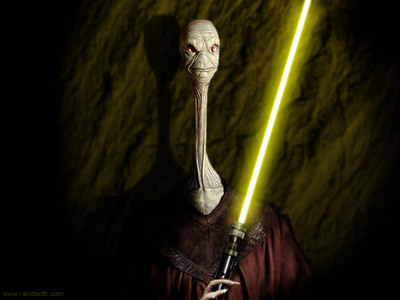 Well, you are missing one unpopular, but important jedi master... Yarael Poof