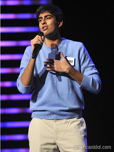 I know this is surprising, but remember Anoop Desai from American Idol? te know, Anoop Dog? xD I like him ♥ I was devastated when he was voted out.