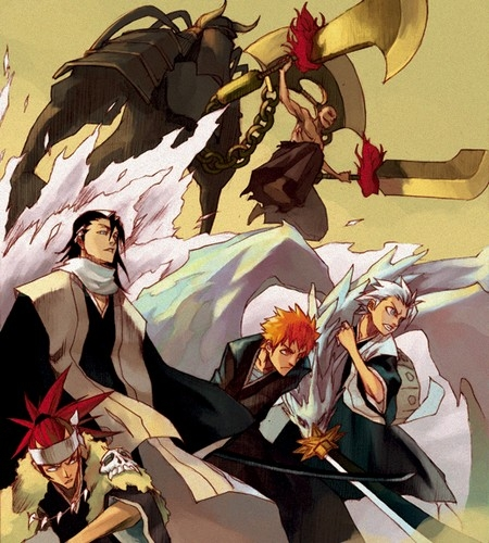 BLEACH!!!!!!!!!!!!! then NARUTO -ナルト-