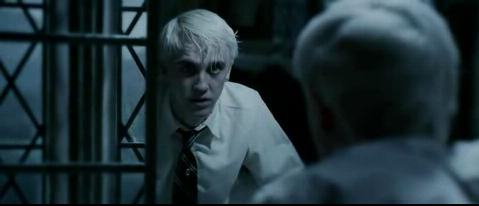 If it is about his personality i say misunderstood because until the sixth book/movie he is being considered as a bad guy but then we get to see in HBP that he isn't so bad at all!He can't kill Dumbledore.He is so lonely and we see him crying so many times!Poor Draco!Now if it is about his appearance then i say HOT!OMFG he is so hot!I Amore him!