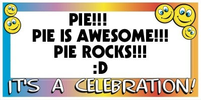 .....,pie is good...,