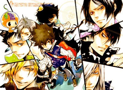Hm, I have もっと見る then one, like Rurouni Kenshin, 07-Ghost, Death Note または Kuroshitsuji, but my all time お気に入り is Katekyo Hitman Reborn! I just 愛 this series. ^^