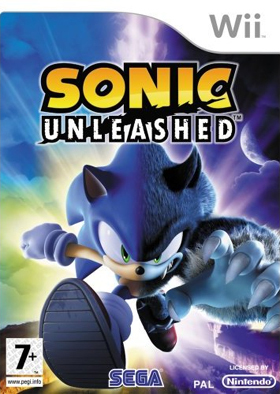 sonic unleashed this was when he was turning into the werehog