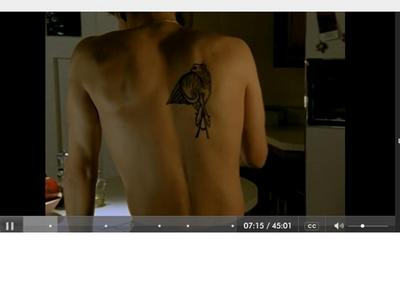 the only tattoo that i can think of is the one that was showed on buffy the vampire slayer...(season 1 episode 7 if you want to see it)i hope this helps...