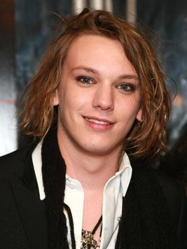 i've seen other pictures of the two, and i think Toby Regbo has the right eyes for Dumbledore, but i don't like Jamie Campbell Bower (Grindelwald) at all. he looks too young and too girly for the part. (image credit: IMDb)