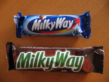 My favourite is milch chocolate, and my favourite Schokolade bar is milky way!