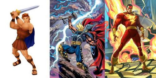 Then a massive fight would break out between Thor, Hercules and Captain Marvel xD