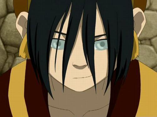 Toph. Katara is bossy, has no sense of humor, doesn't listen to anybody but herself, and is just plain boring...