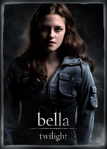 I don't think it ever mentions that in the series. But my lucky guess would be blue, considering Bella looks beautiful with that color :)