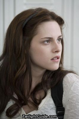 in the book her real name is isabella marie swan.but her real life name is kristin stewert.