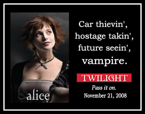 I Amore Eclipse! Because it has my preferito Alice part in it! When she asks Bella if she loves her. And then asks to do the wedding. And how she gets so happy! Just Amore it! ALICE ALICE ALICE! lol Then the movie since right now the only 1 out is Twilight...so til New Moon comes out then its Twilight