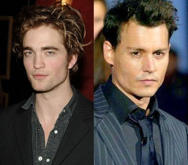 I'm a big پرستار of Johnny Depp and I can't believe people compare him with Robert Pattinson when Johnny have almost his all life acting and Robert just few years.Do آپ think this is fair?