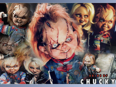 Okay, this is one I need to think about; What I LUV about Chucky: -His voice -His being a killer -His big, bright blue eyes -His red hair -His scars -His being so damn cute -His methods of killing -His son, Glen Ok, now Tiffany: -Her green eyes -Her hair -Her outfit -How she killed that couple, Diane and Ross -Her being so funny! -Her being with Chucky (well, kind of) -Her son, Glen I LIKE CHUCKY!!!!!!!!!!