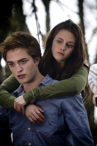 I cinta it becuase even though it is so fictonal - it still seems real. Because the story is written through Bella who is just an average teenage human anda can relate well to her - also i cinta the characters - edward and the other cullens mostly. It's a beautiful cinta story between edward and bella and I cinta it because it also is addicitng - anda don't every want to stop membaca - I would be sooooo happy if another book that continued from Breaking Dawn (not midnight sun)came out, just because there would be lebih Edward and Bella moments.