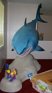 Anyone interesting in buying the promotional statue made for the opening of Finding Nemo? This was custom made por Idea Planet Inc. 10' long x 8' high x 3 ' wide – and due to ingenious construction – not all that heavy...