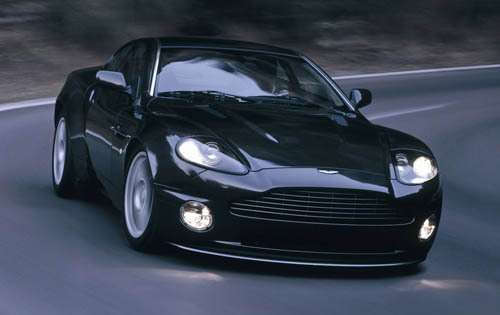 I like Bella's after car and Alice's porsche but my fav is the one which Edward takes Bella to the Prom with. Aston Martin V12 Vanquish