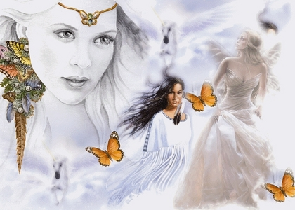 If you were an angel how would you like to look ? Please add your image !