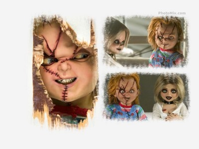 Chucky! He is so freaking cute and hilarous. Tiff is cool too but Chucky is the orignal. gotta Cinta him. Finnaly a doll that swears as much as I do!