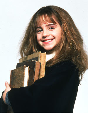 Young Hermione doing underage magic?