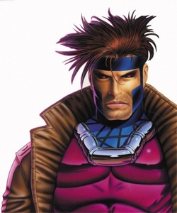 well i'm not i big shabiki of gambit all i know is that he was with the weapon x program like wolverine than yes he joined the x men he is rouges boyfriend & i don't know why he left the x men