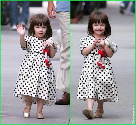 Suri Cruise. She&#39;s adorable and perfect for it!