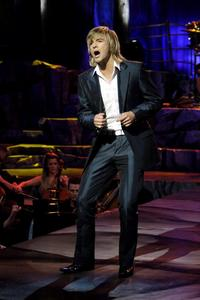his solo tour is already over he only went a few places. he will be coming back in Oct. with Celtic Thunder