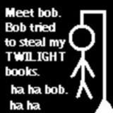 I Liebe Twilight!!! (Plus I would probably kill Du if Du tried to steal my Twilight books.)