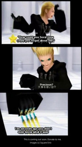 Hate Larxene, Sora, and a lot more.