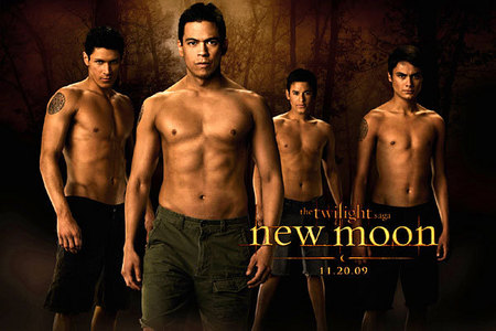 No, it is not real (that I know of). If you look at the poster for the wereworlfs, all of them have one. Like the gave the Cullens a crest in Twilight, they have given the werewolfs a tatoo in New Moon (: