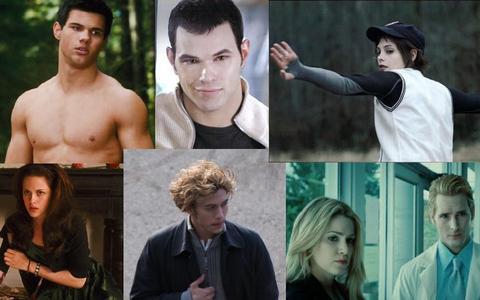 I don't know. I'll make a list.  The Boys:             1) Jasper             2) Carlisle           3) Jacob              4) Emmett              The Girls: 1) Alice 2) Bella 3) Rose 4) Leah (No Picture)