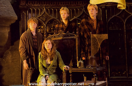 I love the WEASLEYS! I can´t choose between them...at first my پسندیدہ characther was Ron but then I also started to like Ginny and the twins...