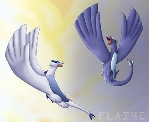 I think so.But I don't know for sure.There might be.Because Lugia had a son named Silver.So he needs a mate to have a baby.So it was a Ditto,or a female Lugia.But I think there is female and male Lugias.