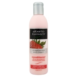 mostly Alberto Balsam strawberries and cream shampoo and conditioner, oder Herbal escences But the Alberto is great! Yu get it 4 £1 in Asda! (for britain, idk about any other country)