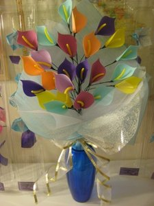 What do anda think about handmade flowers?