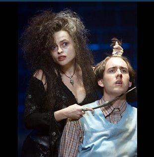 Bellatrix Lestrange!She is so cool!So insane....i just love her!!!My master,Lord Voldemort,too!he is the greatest wizard of all times!!Also I love Draco Malfoy!He is so handsome and hot!
