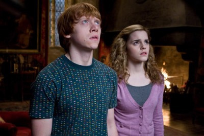 My Fav Charcters are a tie between ron & hermione